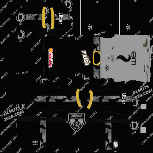 AL-Ahly Sc Kits 2021-2022 Umbro - Kit Dream League Soccer 2021 (Away)