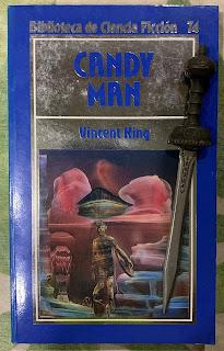 Portada del libro Candy Man, de Vincent King