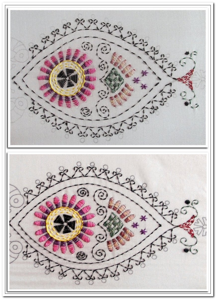 Homespun Stitchworks For The Love Of Vintage Kantha Stitch And