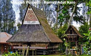 Desain Bentuk Rumah Adat Karo dan Penjelasannya, Rumah Adat Indonesia