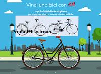 Logo Concorso '' Vinci una bici con H&M!'' : gratis 5 bici Olmo in palio ogni giorno
