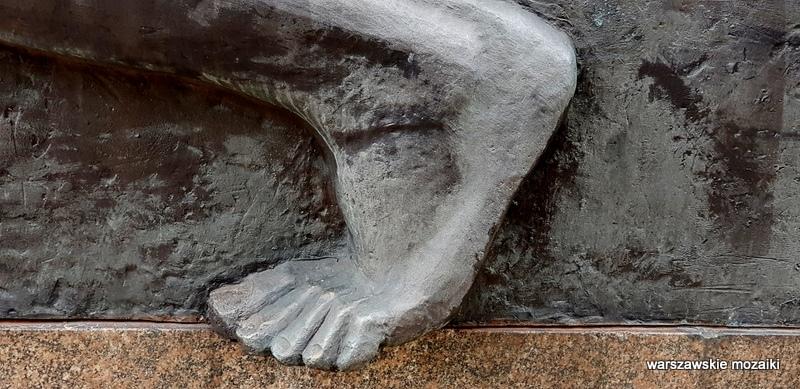 pomnik Poległych Żołnierzy Polskiej Organizacji Wojskowej Edward Wittig rzeźba