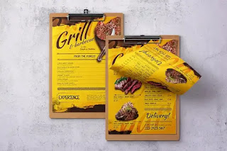restaurant menu design templates