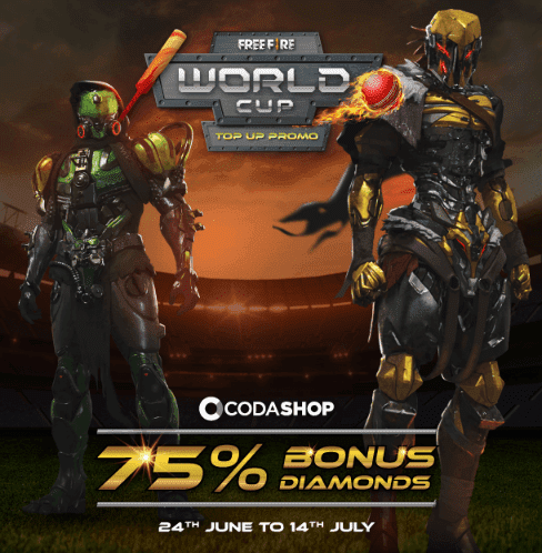 Free Fire World Cup Offer
