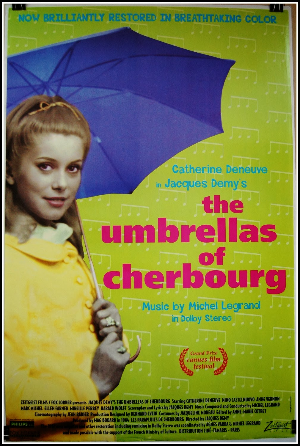 the umbrellas of cherbourg review The cinephile references are never subtle, from visual nods to demy's umbrellas  of cherbourg (which also featured a couple named guy and.