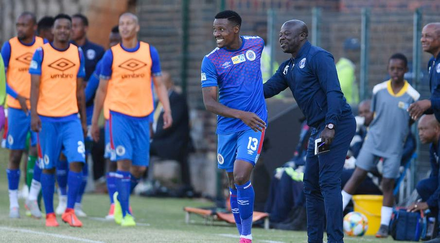 Supersport United striker Thamsanqa Gabuza