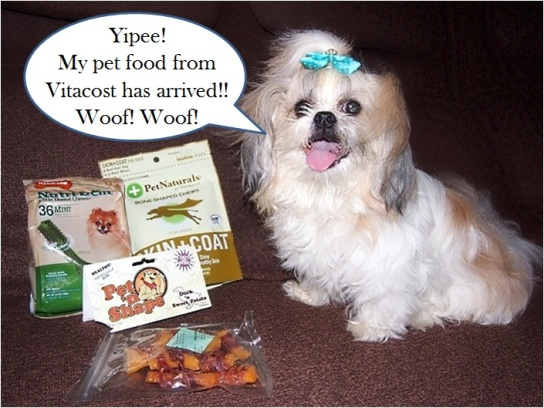vitacost pet food