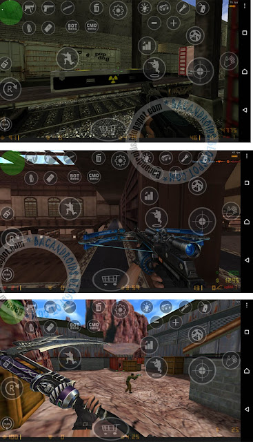 Cara Mod Map Senjata di Counter Strike Android Versi Pointblank