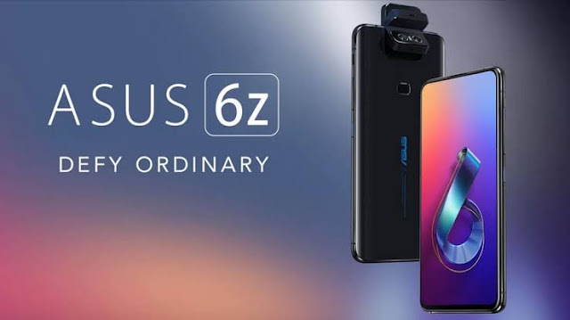 Asus Zenfone 6, or Asus 6Z, Asus Zenfone 6Z, Key Specification, Full Specification, and Price in India.