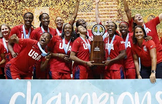 USA Won FIBA Women's AmeriCup 2019 title.