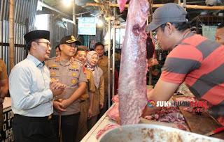 Wali Kota Sukabumi bersama Kapolres Sukabumi Kota