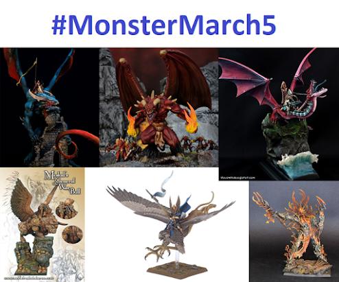 #MonsterMarch5