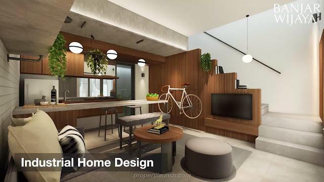 Industrial Home Design Infini Hauz