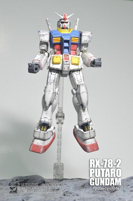 HGUC 1/144 RX-78-2 GUNDAM Custom Paint by Putra Shining - PUTARO GUNPLA