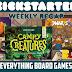 Kickstarter Recap - October 12, 2018