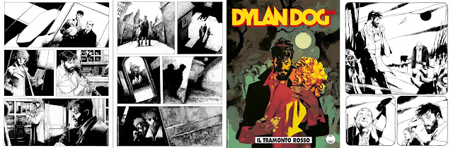 Dylan Dog #402: Il tramonto rosso