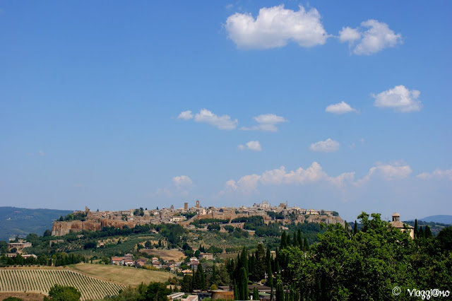 Vista sulla cittadina di Orvieto