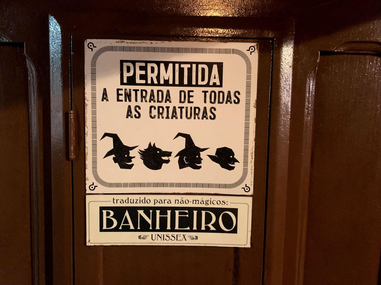 cartaz permitida a entrada de todas as criaturas