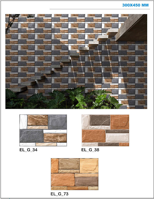 Wall Elevation Stone Tiles