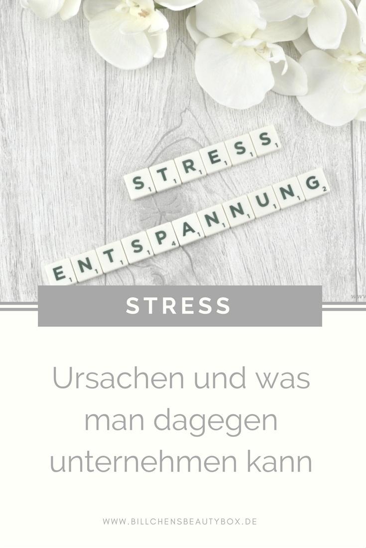 Ursachen von Stress und was man dagegen unternehmen kann
