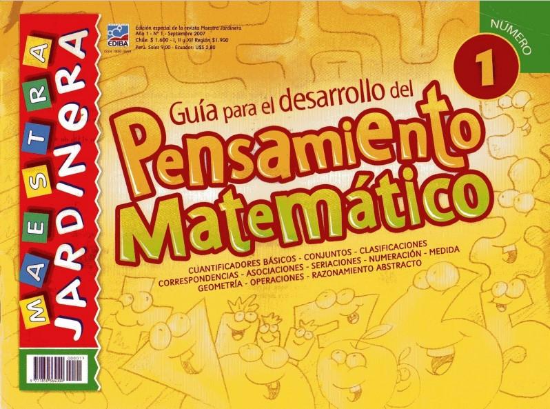 Matemáticas Primer Grado  - Pensamiento Matemático 1 - Preescolar