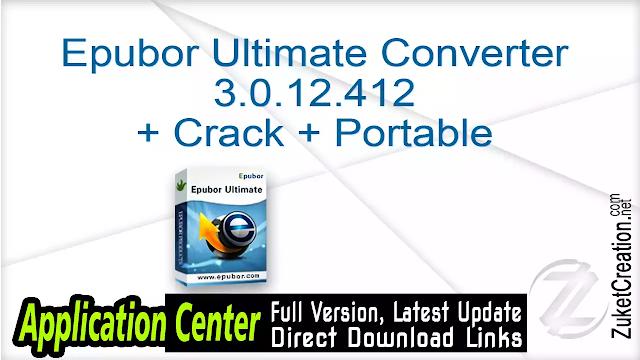 Epubor Ultimate Converter 3.0.10.118 + Keygen