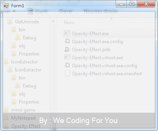 Opacity Effect Startup Source Code