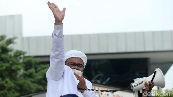 Habib Rizieq Diperiksa sebagai Tersangka Kasus Kerumunan Megamendung Hari Ini