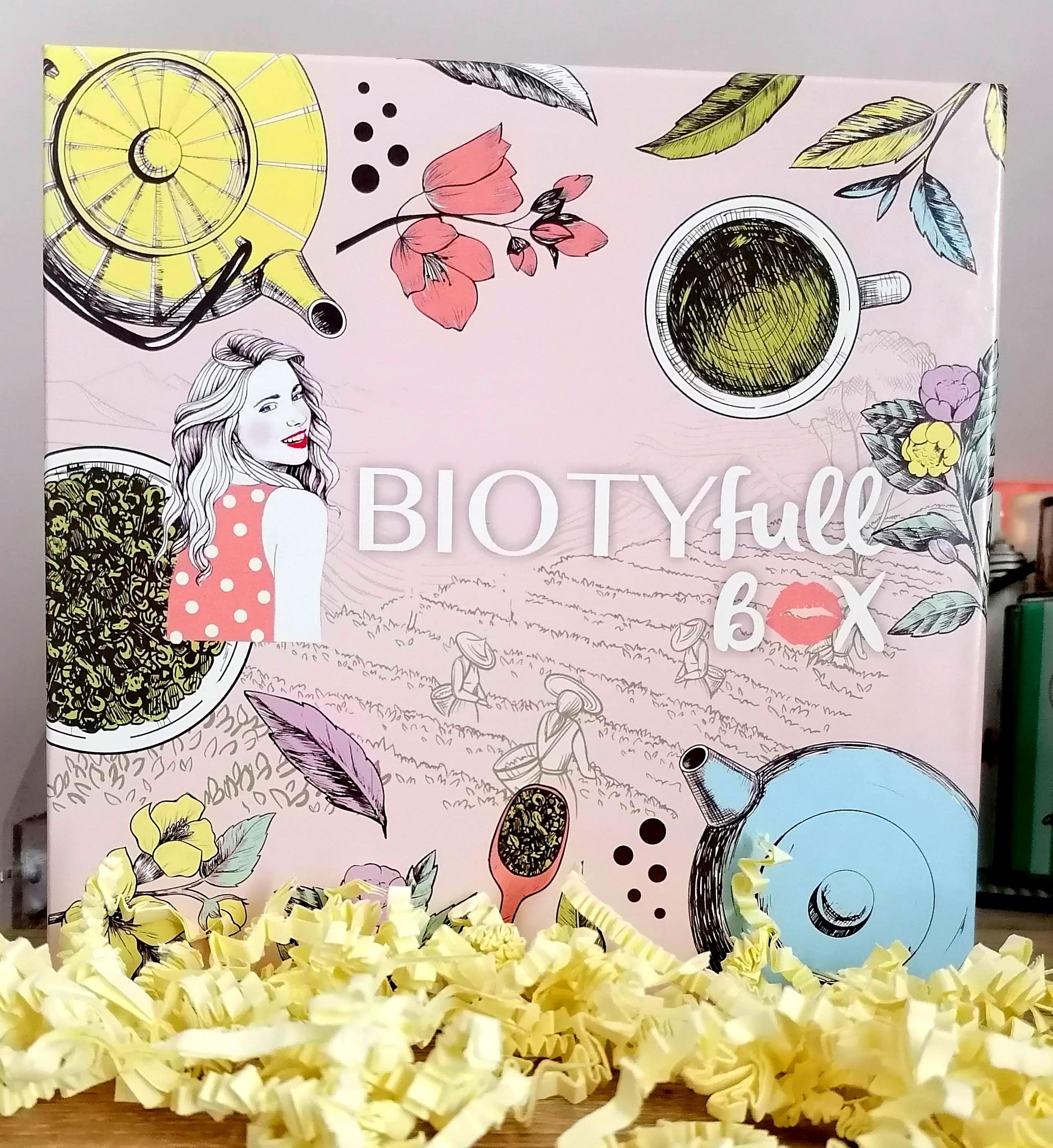 BIOTYFULL BOX Septembre 2020 : la 100% thé pour ses 5ans! 🎂