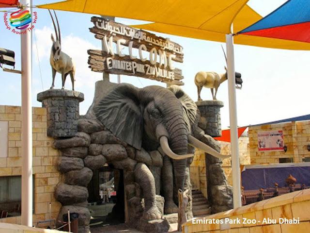 Emirates Park Zoo Abu Dhabi
