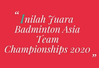 juara Badminton Asia Championships, siapa saja juara badminton, daftar pemain badminton,