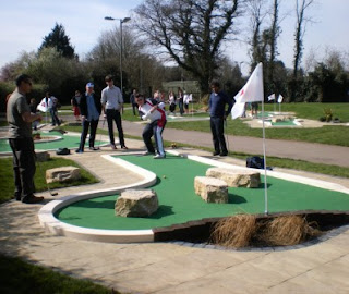 Mini Golf at Basingstoke Golf Centre