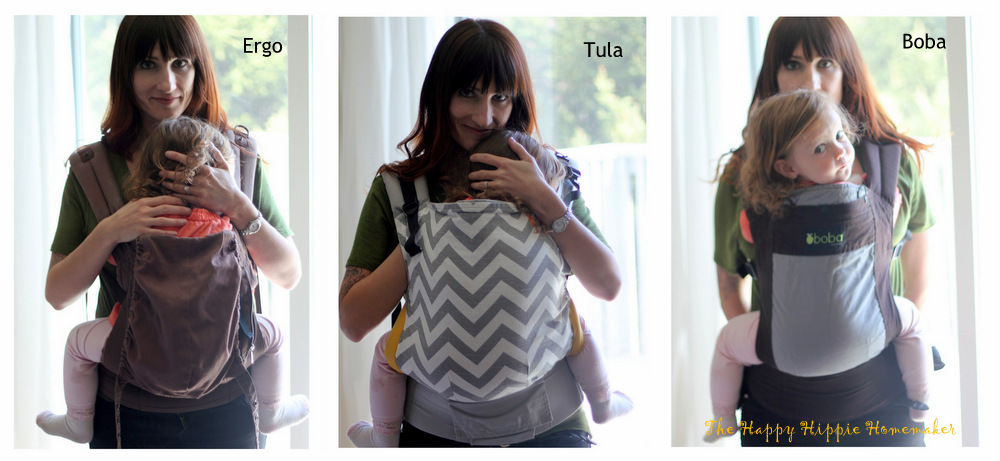 The Happy Hippie Homemaker Ergo Vs Boba Vs Tula Carrier