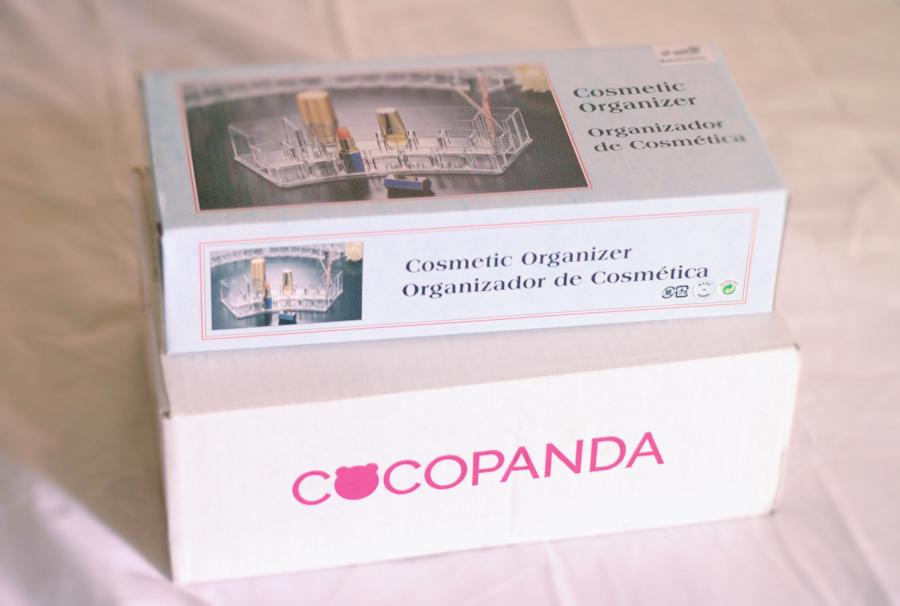Ensimmäinen meikkitilaus Cocopandalta