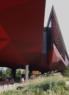 the building of the Musée du Quai Branly, designed by Jean Nouvel