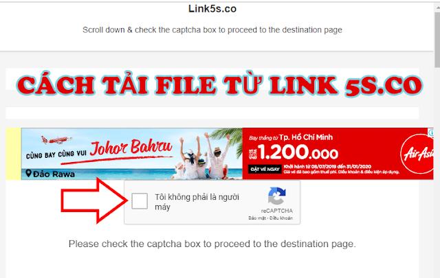 ebook-pdf: hướng dẫn cách tải link với link rút gọn 5s