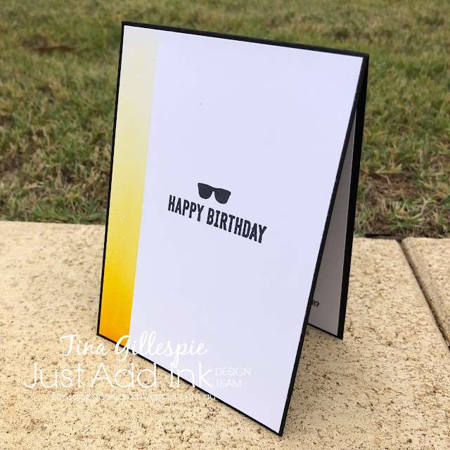 scissorspapercard, Stampin' Up!, Ink Road Stamps, Just Add Ink, Pretty Bizarre, Itty Bitty Birthdays
