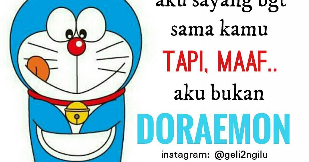 Download 100+ Gambar Doraemon Caption Terbaik Gratis