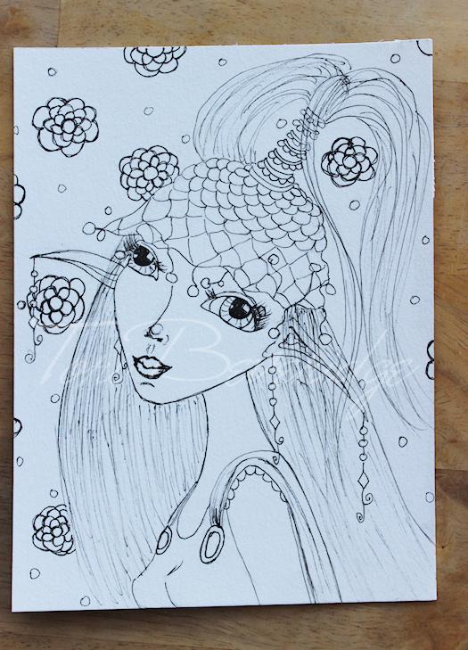 Face #6 by Tori Beveridge