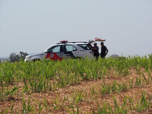Perseguição policial na SP-425 termina com um bandido morto