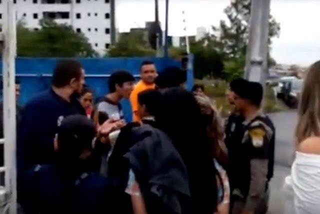 Governador manda afastar policial que deu tapa em estudante durante protesto na Paraíba