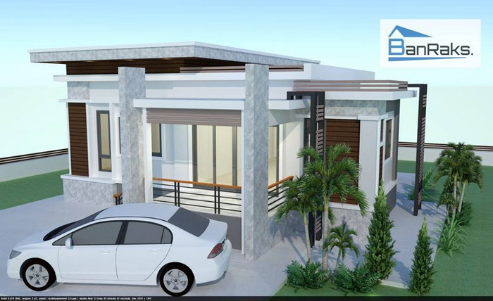 Looking for small house plans with a cost to build? View these stunning and beautiful small modern house designs. View these stunning and beautiful small modern house designs.   Advertisements                                                   House Type: Modern Style Home Economical   Estimated Building Cost: 170, 000 baht   Window Type/Material: Sliding Window/Tiles   Bedroom: 1   Bathroom: 1    Source:  Visanu Salidkul  Sponsored Links                              House Type: Modern style house    Suggested Lot area for this design: 117 square meters    Estimated Building cost: 2,390,000 baht     Window type/material: Tiles    Bedroom: 2    Bathroom: 3    Kitchen: Yes    Garage: Yes    SOURCE: Starwellasset                                                                   House Type: Modern style home loft style   Floor area: 9.50 x 11.50 m   Suggested Lot area for this design: 80 square meters   Estimated Building cost: 1,300,000 baht   Window type/material: Tiles   Bedroom: 2   Bathroom: 1   Garage: Yes    SOURCE:  Baan Rak   SEE MORE:      If you are looking for a perfect home for a small family. This house has an area of 51 square meter. The building cost is 500,000 baht (excluding furniture).  This house size is 6 × 8.5 meters. The building cost is 500,000 baht (excluding furniture). Perfect for home or small family.    This house is low floor. Stonework divider decorated with blue turquoise. Get with the door frame and dark aluminum. The rooftop is secured with simulated wood. Two-layered rooftop. SOURCE: Sasiton Sukjaroen  This house has a total lot area of 37 sq.m. containing 2 rooms, 1 bathroom, family room or living room and parking area before the house. This is a small house for small families or for couples. SOURCE: vivaecomodern If you're looking for a decent sized home, this home is for you. This small home comprises of 2 rooms, 1 washroom, 1 kitchen and 1 front room with patio or terrace. This house has a total lot area of 64 sq.m SOURCE: househabi