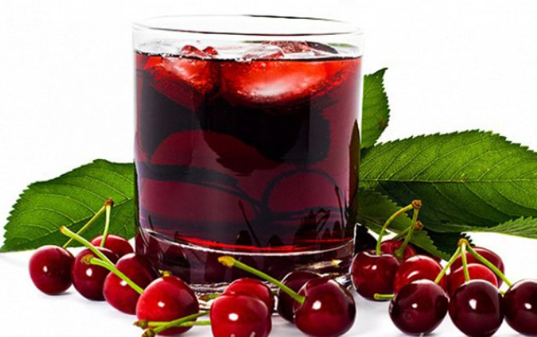 Method of action of cherry syrup