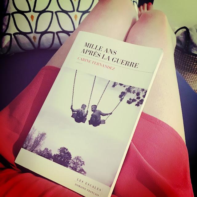 Chronique littéraire Mille ans après la guerre par Mally's Books
