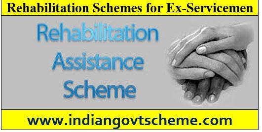 Rehabilitation Schemes