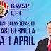 Pembayaran Terakhir i-Lestari Bermula Pada 1 April