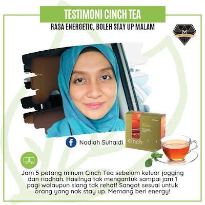 Testimoni Cinch Tea Shaklee - Tak Mengantuk Dah Dan Boost Tenaga