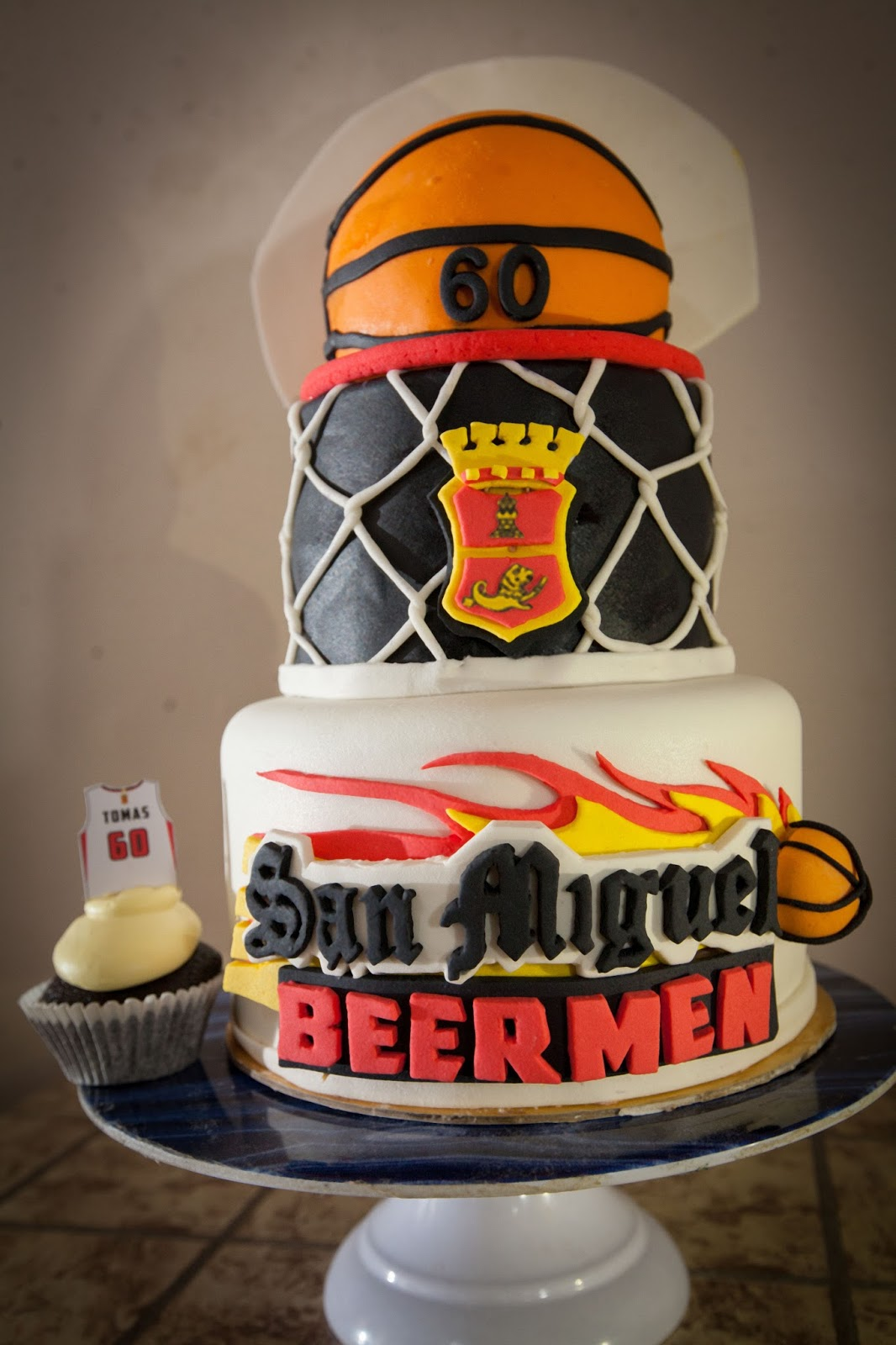 Customize San Miguel Beerman Fondant Cake Cakes By Edilyn