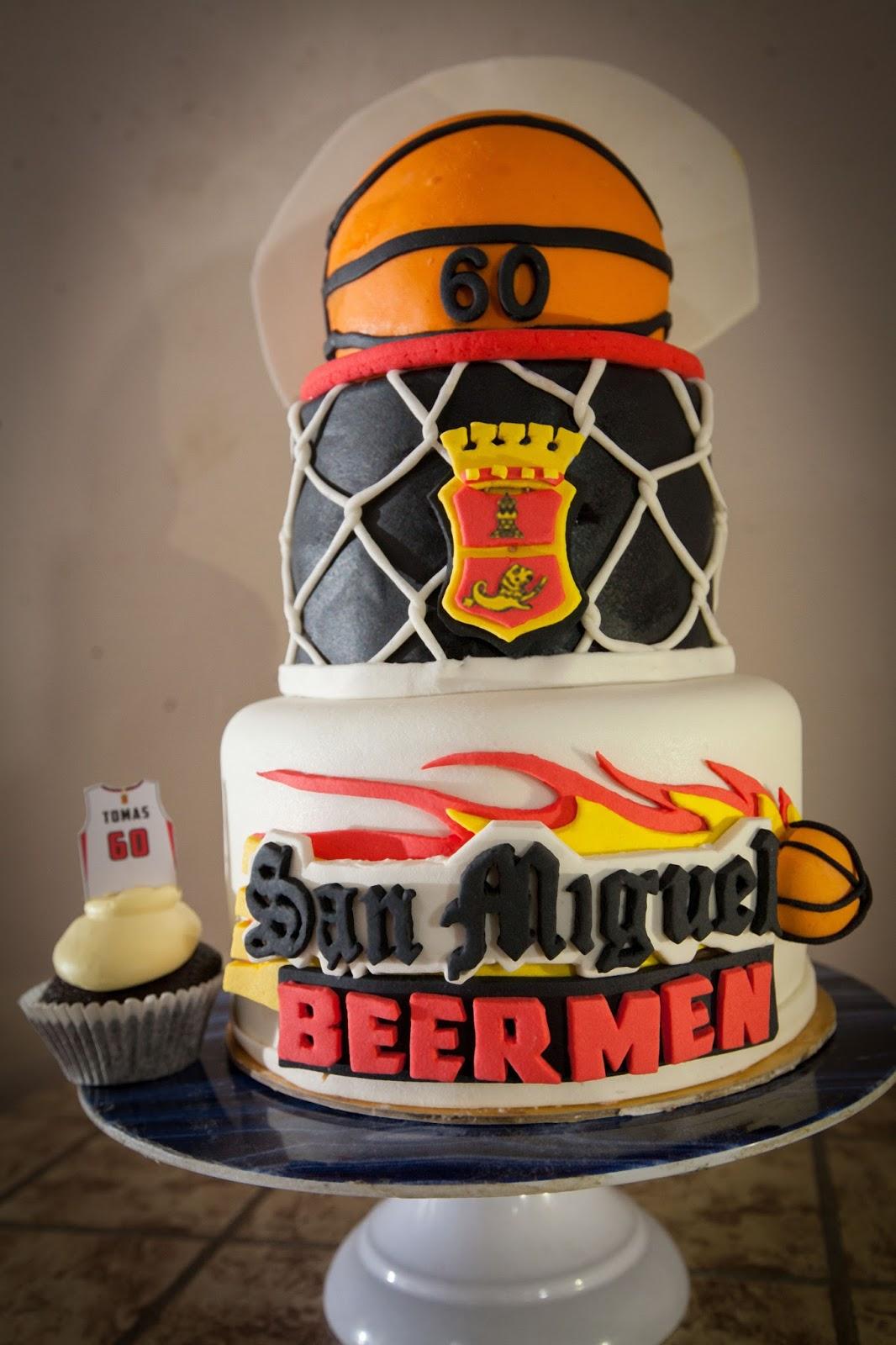 Basketball Cake Design Ideas