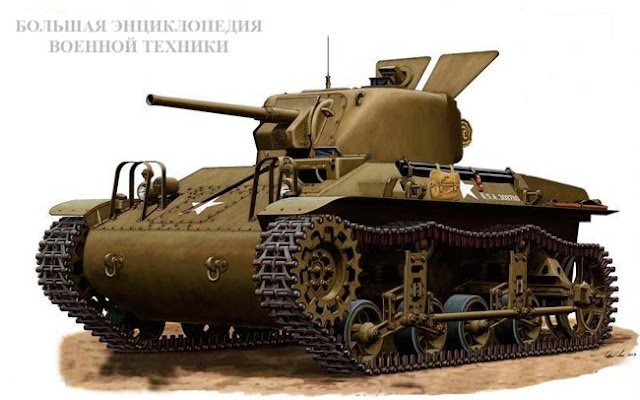 Легкий танк Light Tank M22 Locust